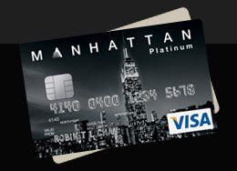 MANHATTAN Platinum Credit Card