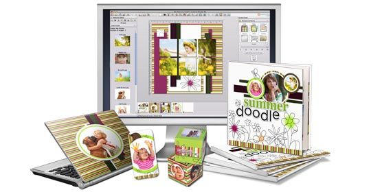 MyMemories Digital Scrapbooking Software Suite Giveaway! You are My Sunshine Mother's Day Hop!