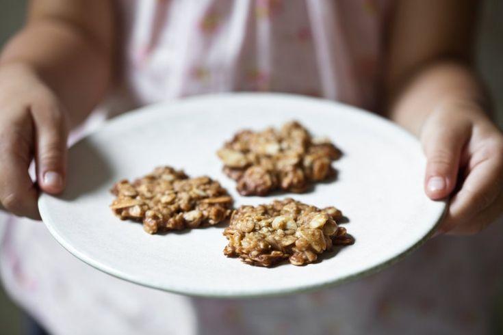 Mandlovo-ovesné sušenky
