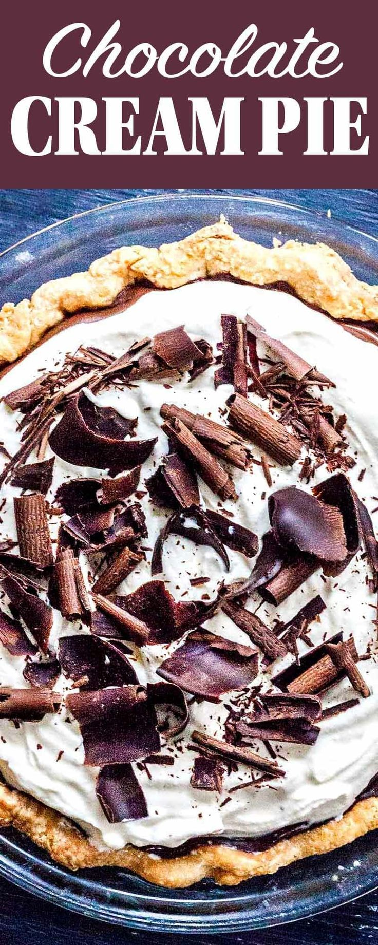 Easy Chocolate Cream Pie Recipe | SimplyRecipes.com
