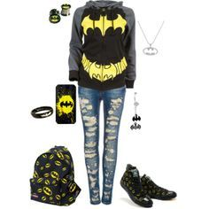 batman outfits for teens | outfits batman outfits batman style batman clothing batman for batman ...