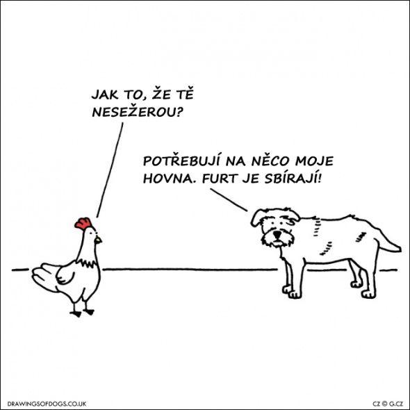 9 lidsky milých komiksů o psech: co se jim honí v hlavě nejen o Vánocích | g.cz