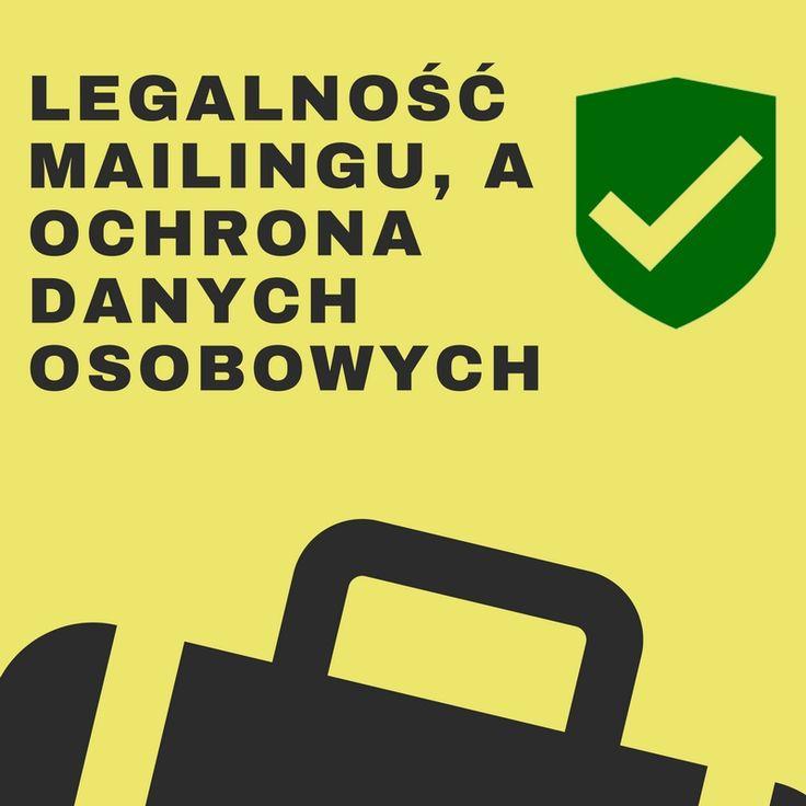 Legalność mailingu, a ochrona danych osobowych.  #pieniądze #biznes #odo #rodo #ochronadanychosobowych #informatyka #outsourcingIT  Spędziłem sporo godzin na analizowaniu tematu mailingu i tego  jak to prawnie wygląda i jest masa nieścisłości. I jedno jest pewne –  nadchodzi nowy kierunek zarobkowy czyli Odszkodowania za wysyłanie SPAMU. Należy na to mocno uważać..