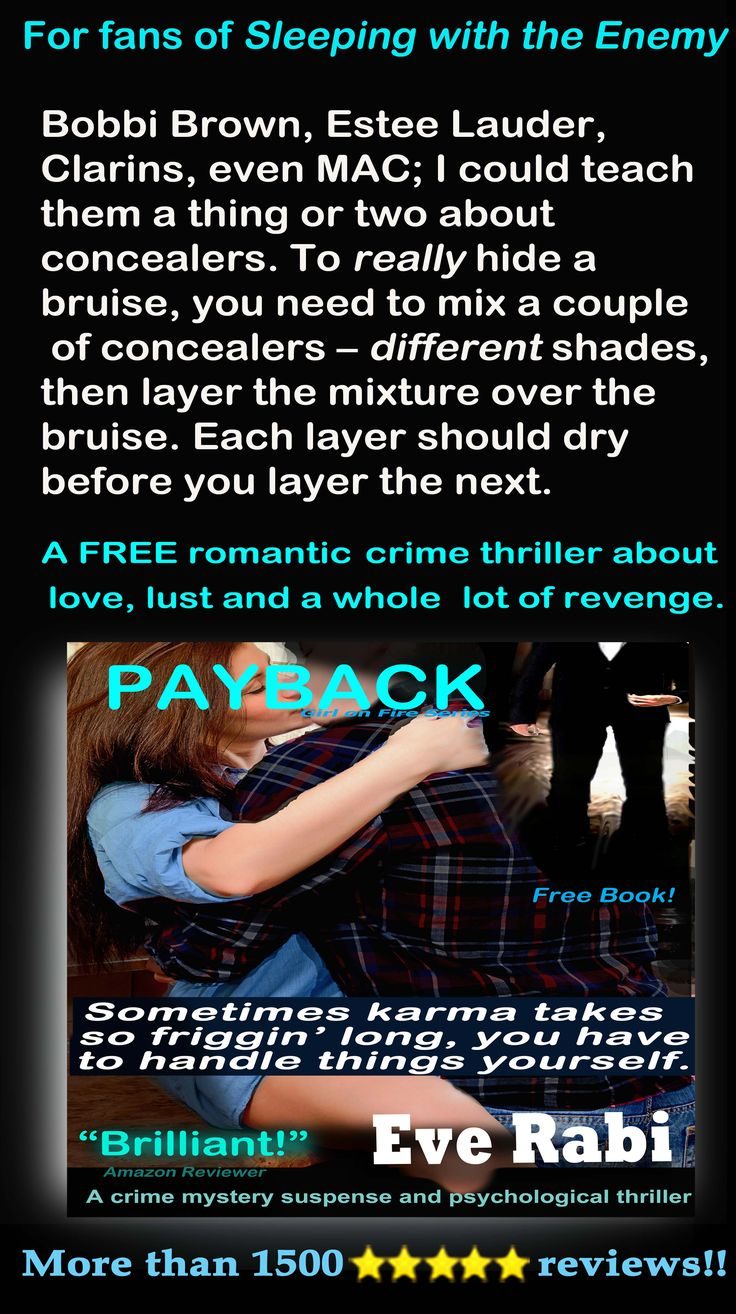 """#CrimeFiction #RomanticSuspense #Books #EveRabi #FreeBooks #Revenge ..................""""This book is amazing!!! I finished it faster than any other. I couldn't put it down. Love, horror, fear, you feel all of it."""" Hard Working Mom of Three"""