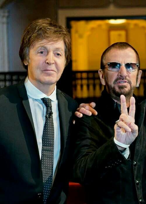 Paul and Ringo in contemporary times.