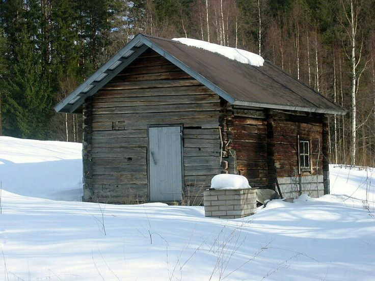 Homemade sauna