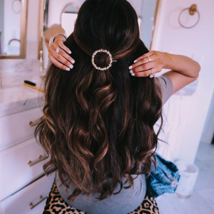 A Fall Closet Staple The Sweetest Thing Hair Styles Hair Clip Trend Curly Hair Styles Naturally