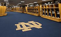 ND Locker Room.jpg | University of Notre Dame Photography