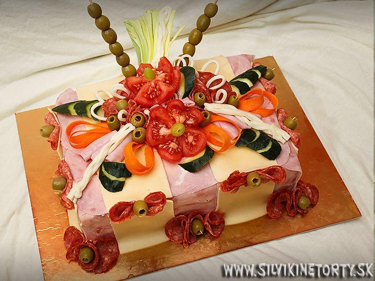 slaná torta - Hľadať Googlom