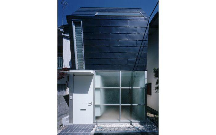 T-house 兵庫県西宮市 狭小住宅の設計 外観