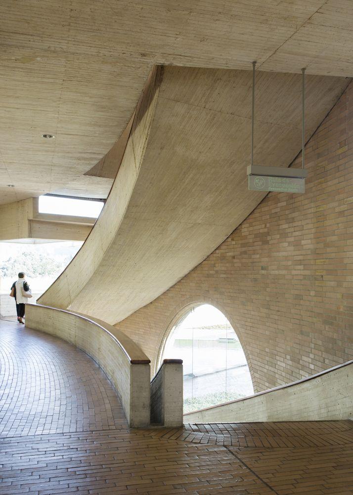 Galería de Clásicos de Arquitectura: Biblioteca Virgilio Barco / Rogelio Salmona - 9