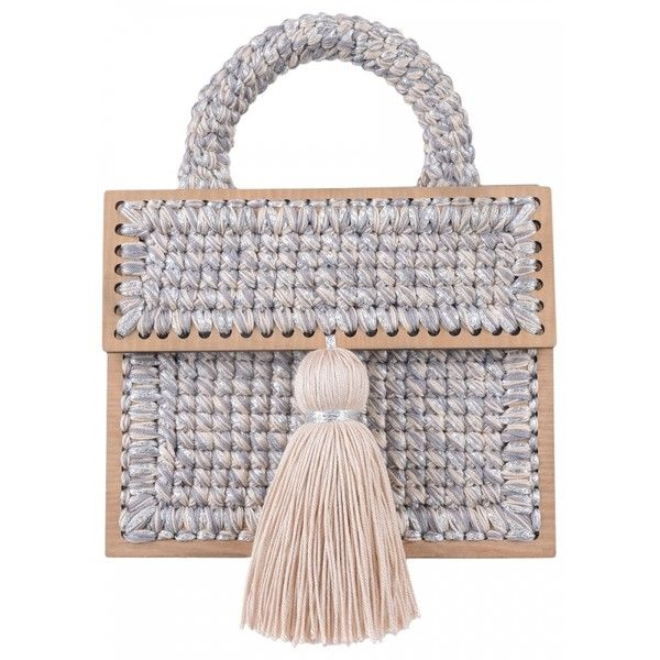 0711 - Beige Copacabana Purse - Purses ($790) ❤ liked on Polyvore featuring bags, handbags, beige bag, sparkly bag, purse bag, handbag purse and handbags bags