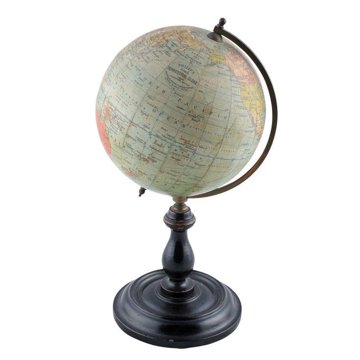Edwardian Philips 6 inch Terrestrial Globe