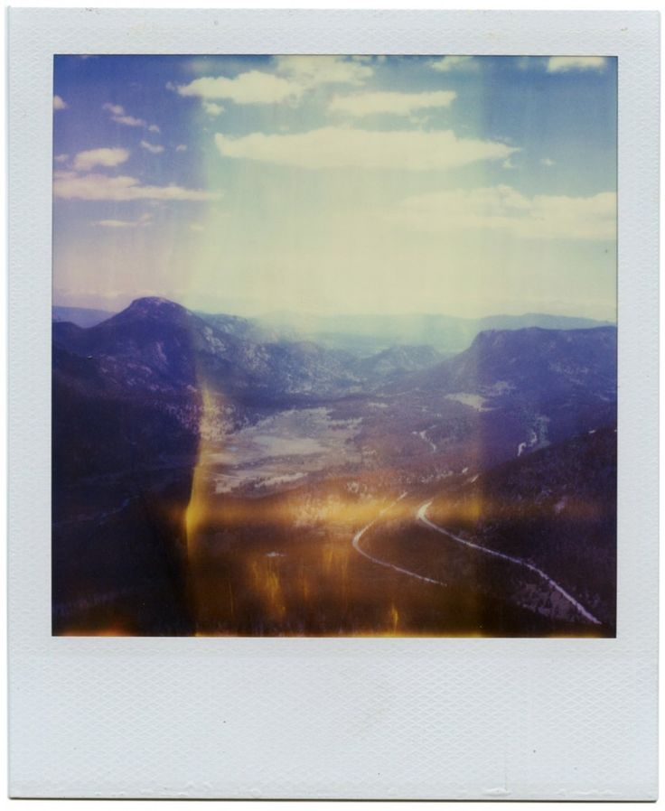 The beauty - and the sadness - of SX70 polaroids that are made with an expired film or a broken camera