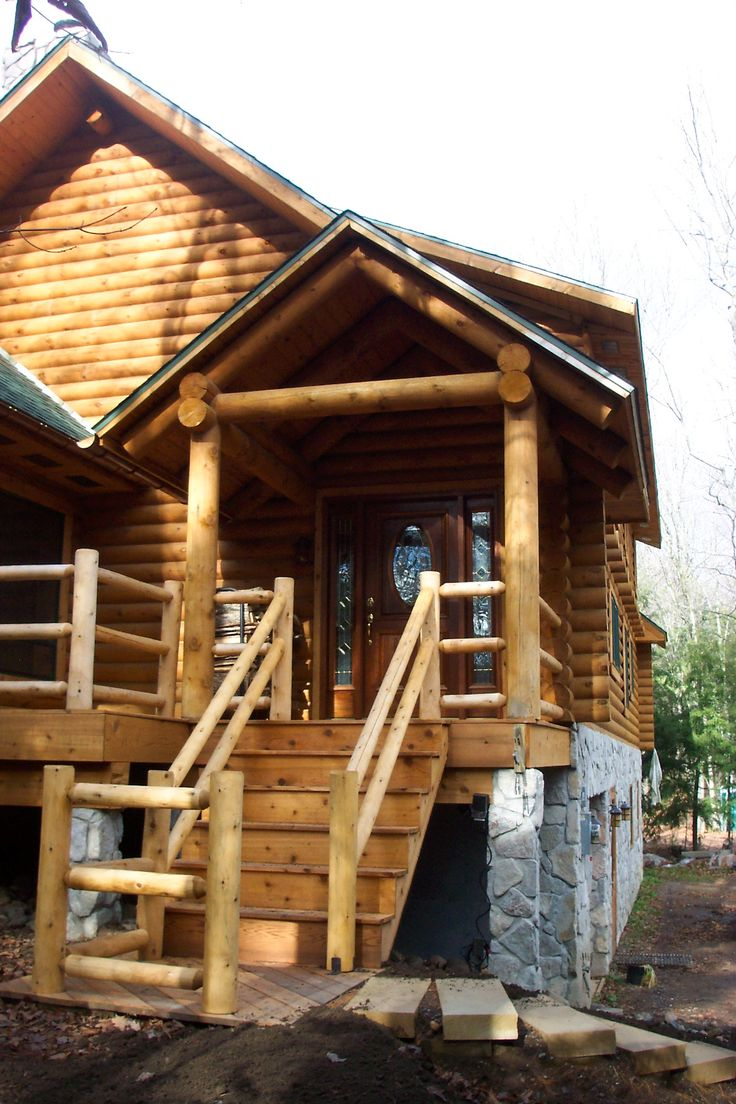 Log cabin on a lake royalty free stock photography image 7866317 - Beautiful Log Cabin Front Door Meadow Valley Full Log Homes Pinterest Log Cabins