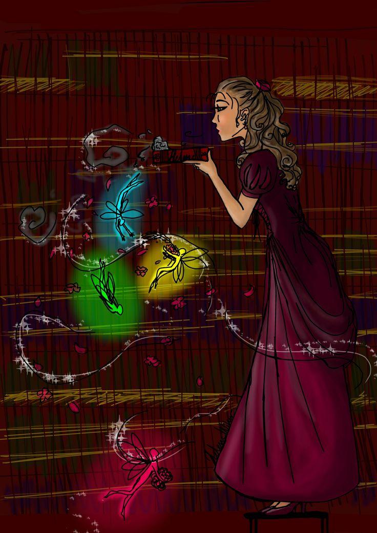 The magic of books made by Helene W