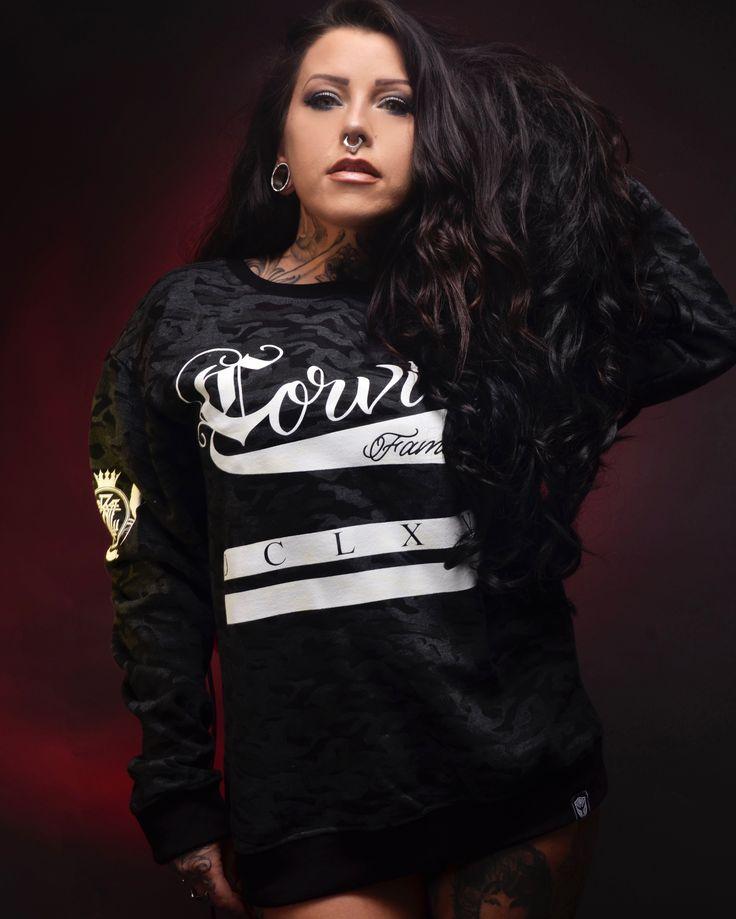 Corvid Fam - Camo Sweater www.crmcclothing.co | We Ship Worldwide