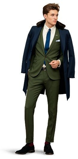 Everybody loves Suits : Couple of green suits. Dark green suit is super...