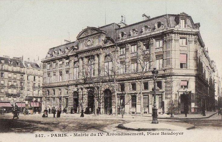 Mairie du 4e - place Baudoyer - Paris 4ème