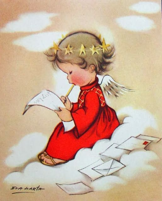 Egeltje schrijft een brief.