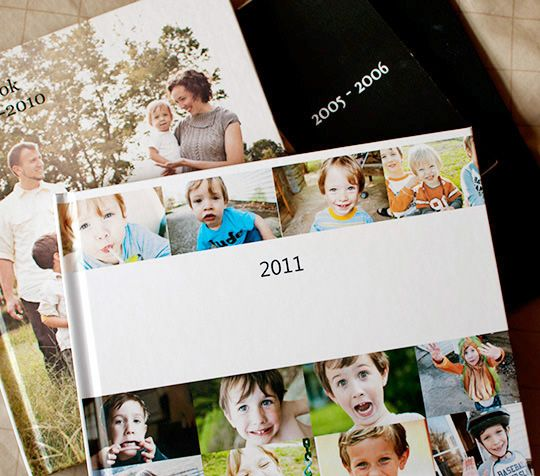 how to create a family yearbook, controlling the chaos of digital photos