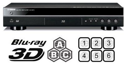 YAMAHA 2D/3D BD-S673 Wi-Fi Multi Region Zone Code Free D Blu Ray DVD Player - Plays Zone A B C Region 1 2 3 4 5 6 0 on Any TV - PAL/NTSC - Worldwide Voltage (6 Feet HDMi Cable Included) by Yamaha. $459.99. Works on all USA TVs 100% with perfect 1:1 conversion PAL to NTSC  GUARANTEED TO PLAY ALL REGION DVD 012345678 PAL/NTSC & BLU-RAY ZONE A/B/C, DivX Xvid AVI DivX-HD and MKV all supported 100%.orks on all TVs 100% with perfect 1:1 conversion PAL to NTSC - NTSC - PAL -...