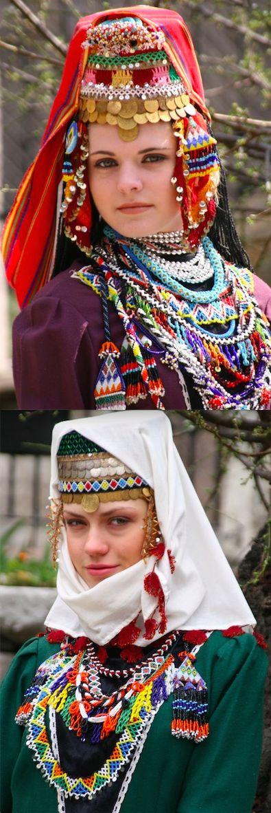 Festive headgear from Bulgaria. (© Kamen Zagorov Photography).