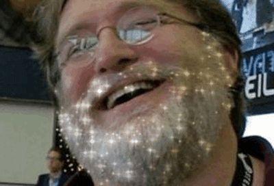 Praise Lord Gaben Sparkle Beard~ - GIF on Imgur