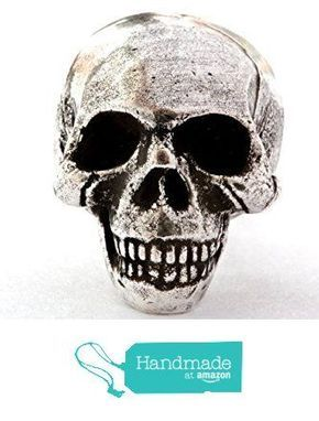Solid metal skull cabinet knob drawer pull made in NYC from Blue Atelier Bayer Bayer Design NYC