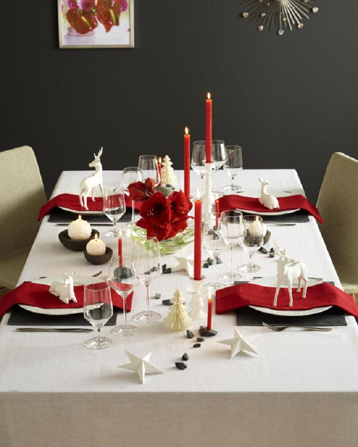 Top 10 Best Cheap Christmas Decorations 2017: Best 25+ Christmas Dinner Tables Ideas On Pinterest