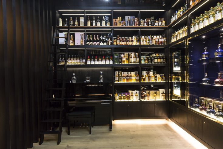 The Whisky Shop Flagship Store In London Library