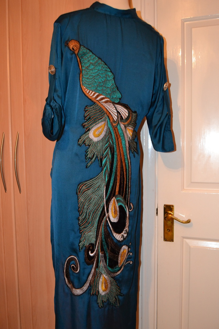 Peacock teal over shirt with leggings