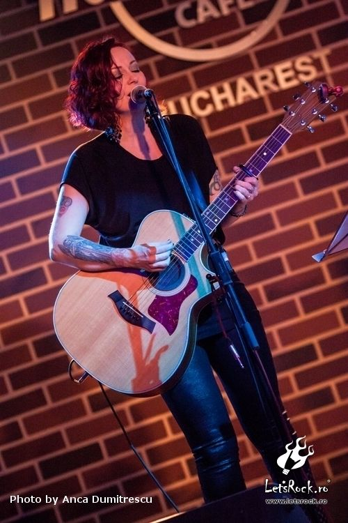 Anneke Van Giersbergen in Hard Rock Cafe, 19 februarie 2015