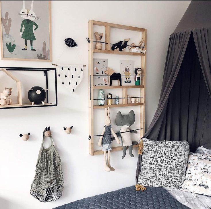 Regal diy Kinderzimmer – #chambre #DIY #child # shelf