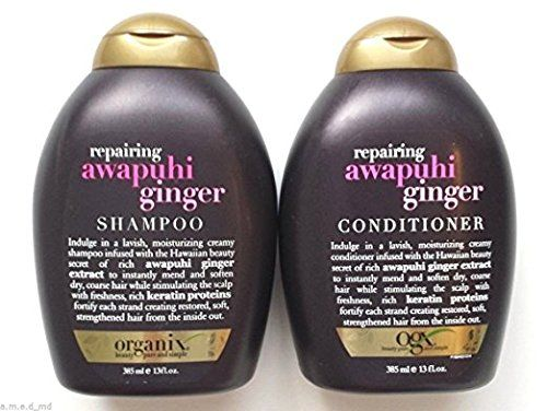 OGX Organix Shampoo Awapuhi Ginger 13oz 2 Pack -- For more information, visit image link.(This is an Amazon affiliate link and I receive a commission for the sales)