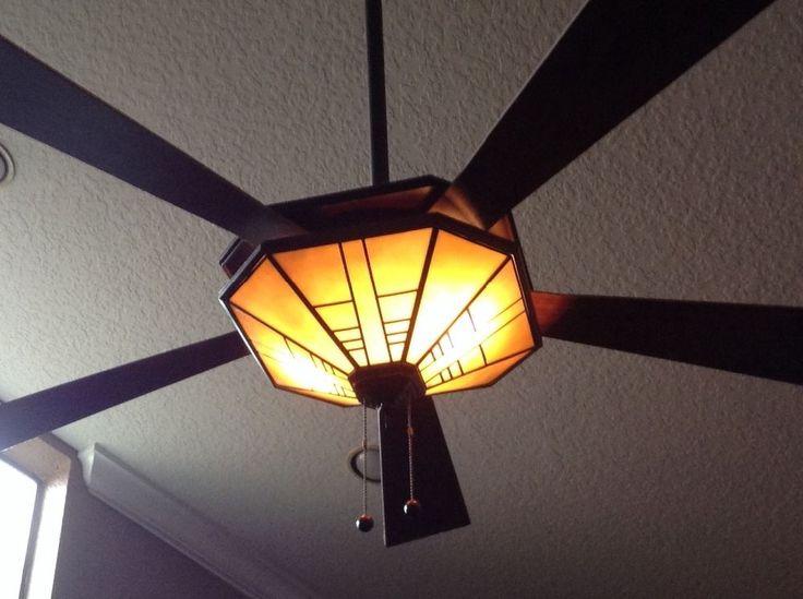 Tiffany Ceiling Fan & Lighting Fixture