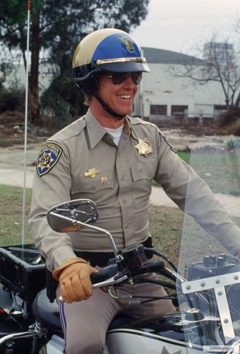 If you ever feel sad or bored... just remember Jon smiling, riding down the highway with Ponch. The sun is setting and after this shift, Ponch will be at the discotheque dancing with a girl. See? Now you're not sad or bored.