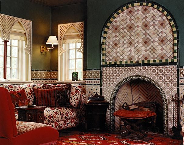 12 Best Moroccan Fireplaces Images On Pinterest