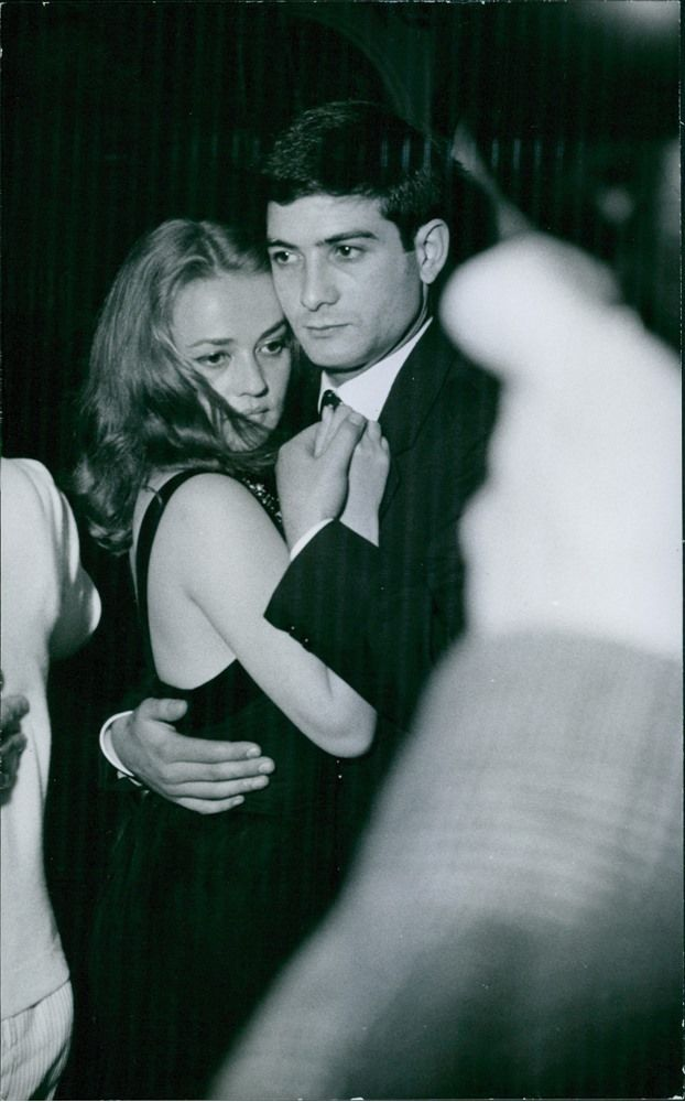 Jeanne Moreau and Jean-Claude Brialy