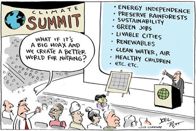 10 Cartoons and Memes That Put Climate Change in Perspective: What If Global Warming Is A Hoax?