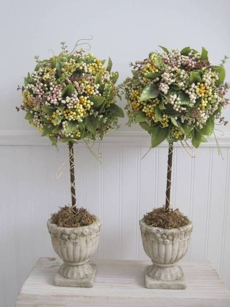 Definitely some topiaries! (DIY, of course)