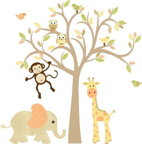 Best Nursery Ideas Images On Pinterest Nursery Wall Decals - Nursery wall decals gender neutral