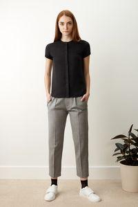 Céline - Pantalon 7/8 gris