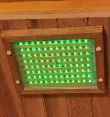 Chromotherapy Lights in Infrared Saunas  Are They Effective? Clearlight Sauna Chromotherapy image.