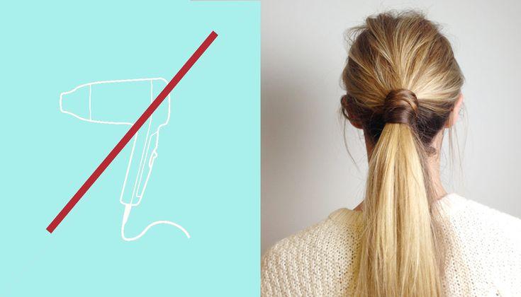 Tras el no poo, y el hair plop es el turno delair-drying, es decir, secado al aire libre. Olvidarse del secadory dejar que las melenas se sequen al aire
