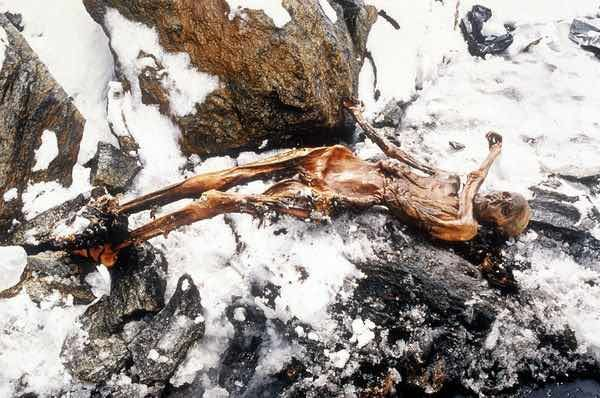 Ötzi the Iceman – the well-preserved natural mummy of a man who lived around 3,300 BCE, more precisely between 3359 and 3105 BCE.