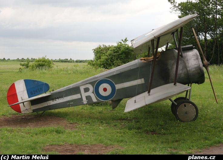 G-BPOB - Sopwith Camel F.1 - Praha - Letňany (LKLT) - planes.cz
