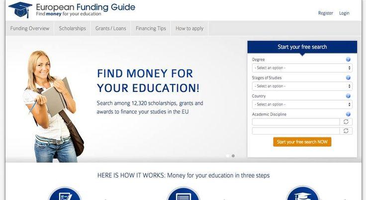 European-funding-guide.eu: πλατφόρμα κατάλληλης υποτροφίας για φοιτητές