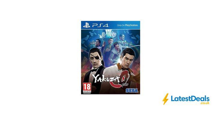 Yakuza 0 PS4 Game Save £18 Free C&C, £21.99 at Argos