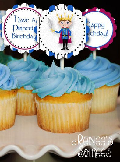 PRINCE Birthday Party - Instant Download - DIY Printable Coordinating Design Accessories Collection